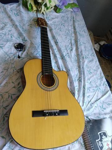 Troco em outro violão elétrico