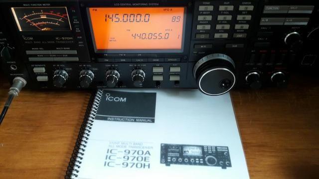 Radio Base Dual Band Vhf/uhf Icom Ic-970h