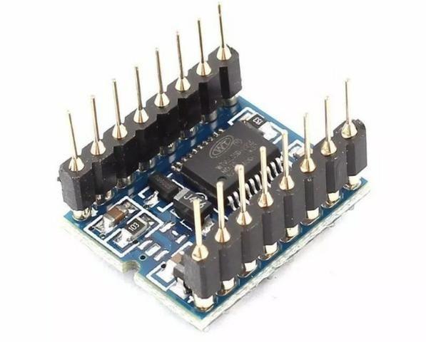 COD-AM160 Módulo Mp3 Som Micro Sd Wtv020sd Wtv020 Sd Arduino Automação Robotica - Foto 2