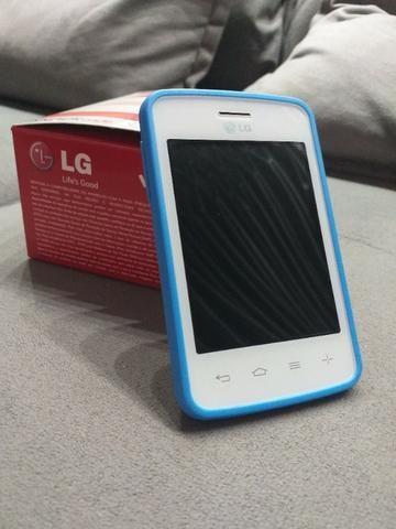 Smartphone LG L30 Sporty Dual Chip - Cor Branco/Azul