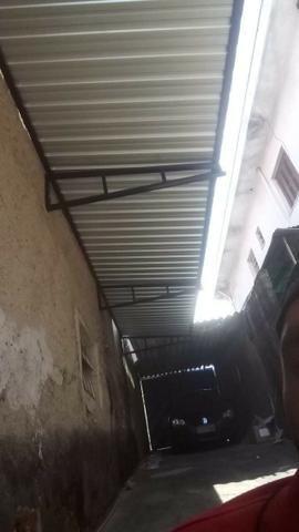 Toldo telhado em Policarbonato ferro sanduicterícia Grades estrutura de ferro em geral