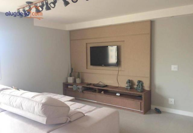 Apartamento com 3 dormitórios à venda, 120 m² por r$ 450.000 - vila adyana - são josé dos
