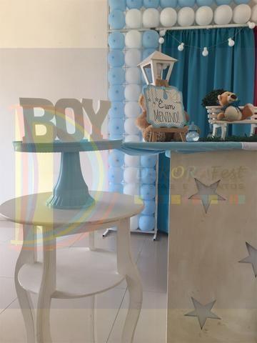 Chá de Bebê Revelação - Urso - Foto 5