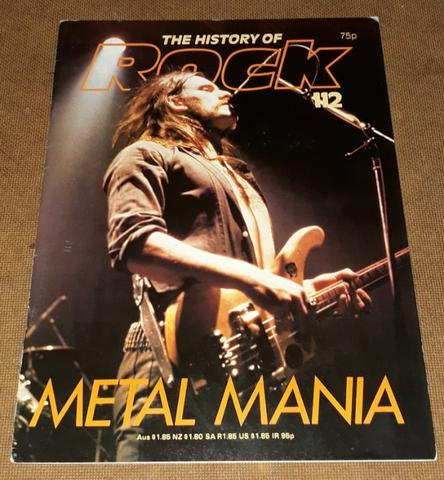 Metal Mania - The History of Rock n. 112 Motorhead