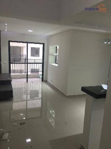 Apartamento com 2 dormitórios à venda, 62 m² por r$ 320.000,00 - jardim américa - são josé