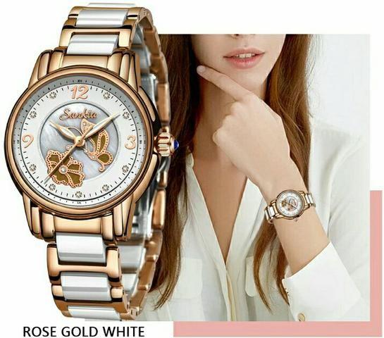 Relógio feminino Sunkta - Foto 2