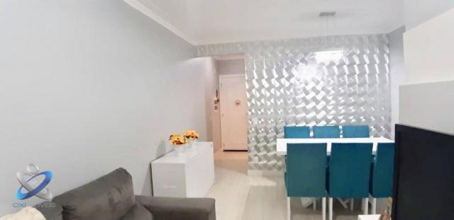 Apartamento com 3 dormitórios à venda, 62 m² por r$ 275.000 - jardim américa - são josé do - Foto 2
