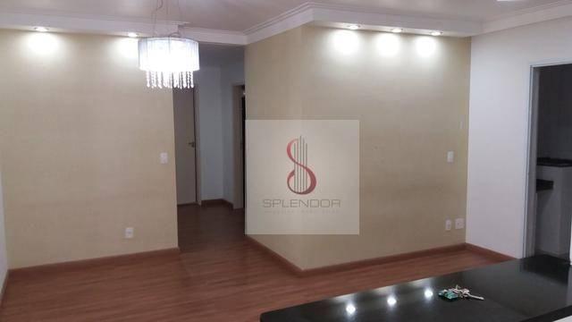 Apartamento com 3 dorms à venda, 92 m² por r$ 477.000 e locação por r$ 1.620,00 - vila bet - Foto 2