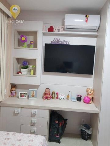 Excelente apartamento em bairro de fátima/jardim camburi 3 quartos - Foto 19