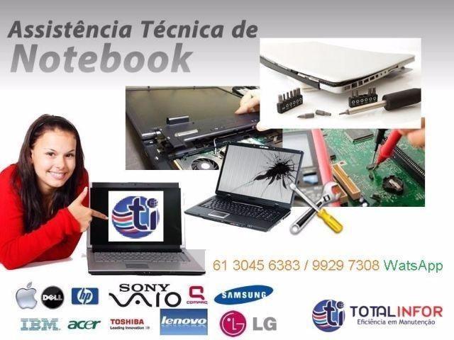 Problemas seu Notebook? Acer Asus Dell Lenovo Hp Apple - Serv 6 Meses Garantia - Foto 4