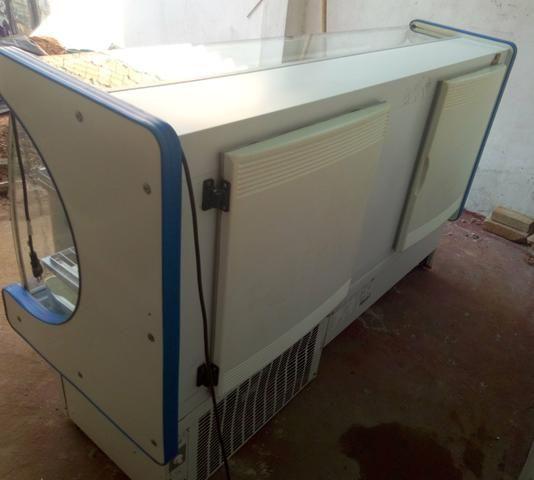 Freezer, balcão refrigerado e expositor de frutas - Foto 3