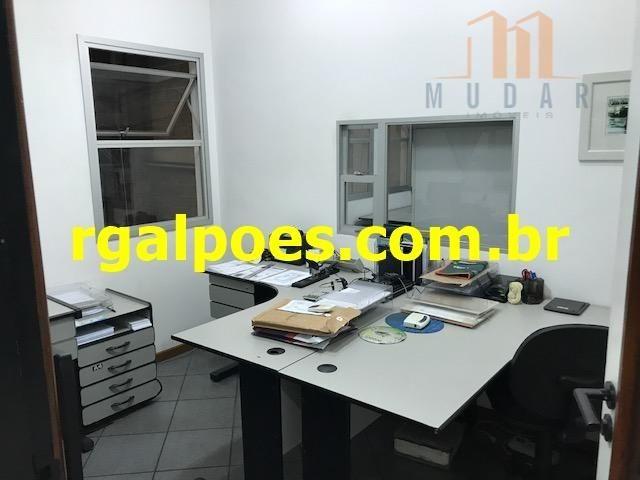 Galpão 650m², 5 salas, 6 banheiros, elevador industrial e recepção - Foto 8