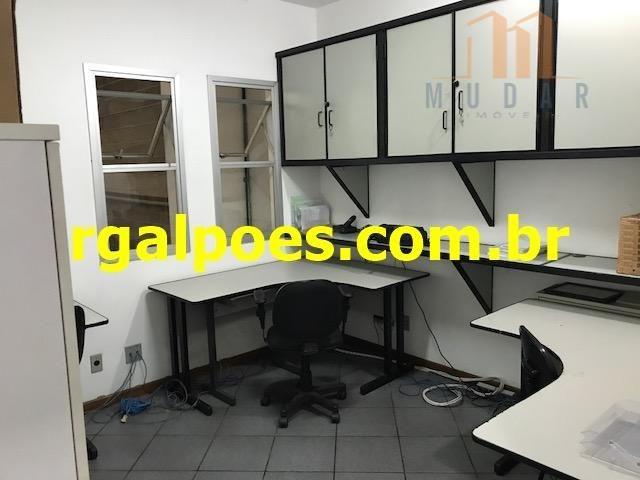 Galpão 650m², 5 salas, 6 banheiros, elevador industrial e recepção - Foto 10