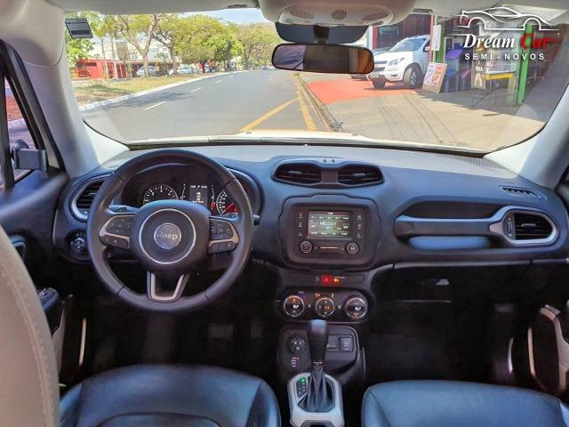 Jeep Renegade Longitude 2.0 16v turbo diesel 4x4 aut 7 air bag único dono 2016 - Foto 8