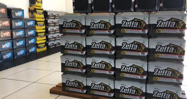 Promocao bateria para carro 60 ah zetta fabricação moura livre de manutenção R$ 229,00