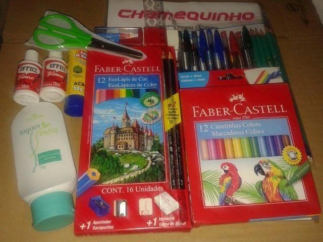 Kit De Material Escolar Volta As Aulas 2020 - Foto 5