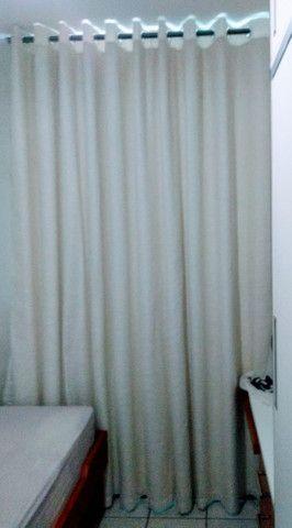 Cortina gaze de linho com blackout lavável - Foto 3