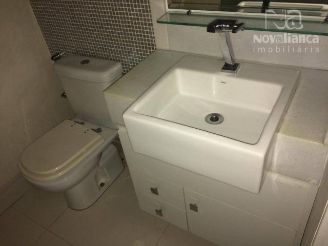 Apartamento com 3 quartos para alugar, 85 m² por R$ 1.500/mês - Itapuã - Vila Velha/ES - Foto 13