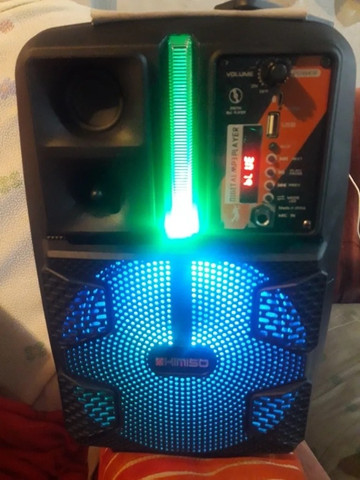 Caixa de som Amplificado (Kimiso Qs-2805) 2000W - A Mais Procurada Na Loja! - Foto 6