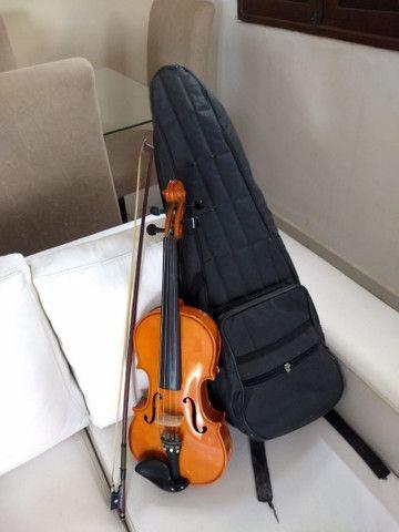 Violino Eagle vk544 tá super concervado - Foto 6