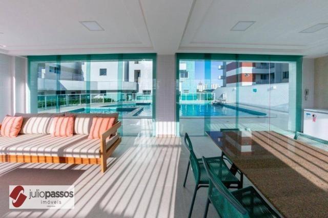 Apartamento com 2 dormitórios à venda, 73 m² por R$ 646.416,14 - Jardins - Aracaju/SE - Foto 10