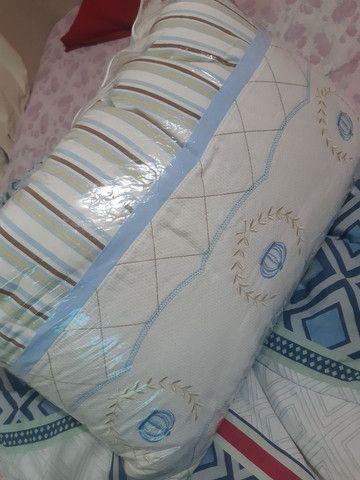 Vendo almofada de amamentação kit do berço  - Foto 3