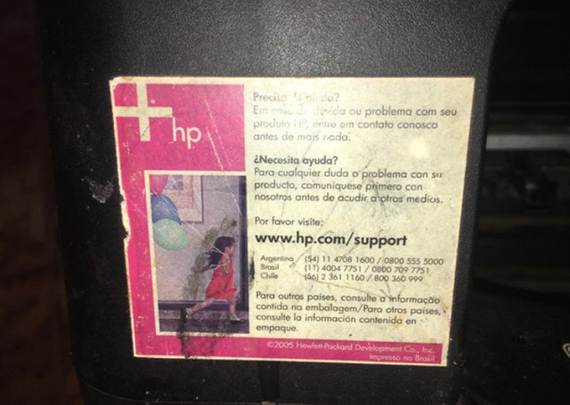 Vende-se impressora HPDESKJET 4180