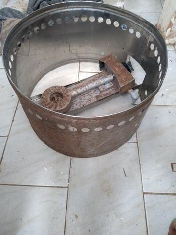 Fritadeira a gás pra batata frita compre uma leve duas - Foto 2