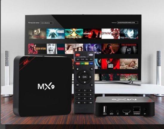 Smart tv BOX MX9 4K - Foto 2