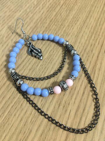 Brincos personalizados, colares, chokers, pulseiras, tornozeleiras e buckets - Foto 6