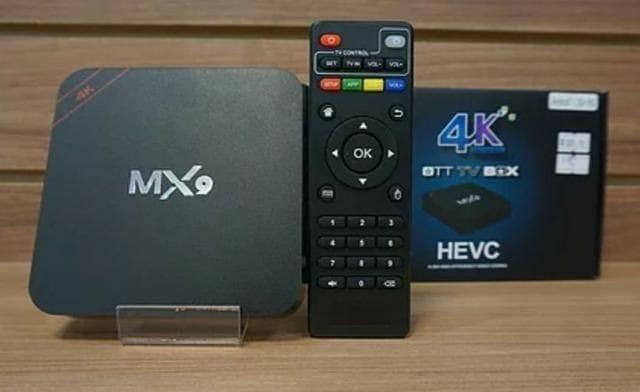 Smart TV Box MX9 4K