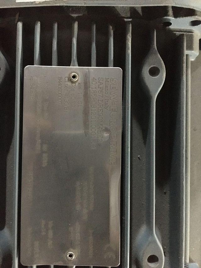 Motoredutor com freio 2 cv - Foto 3