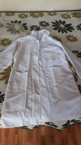 Jaleco branco Feminino - Foto 6