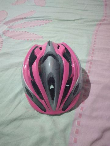 Vendo um capacete dê ciclista - Foto 6