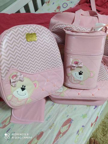Kit de Bolsas de bebê menina - Foto 4