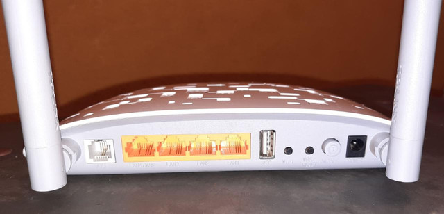 Modem roteador wireless n vdsl2 usb 300mbps marca: TP-Link modelo: TD-W9970 - Foto 4