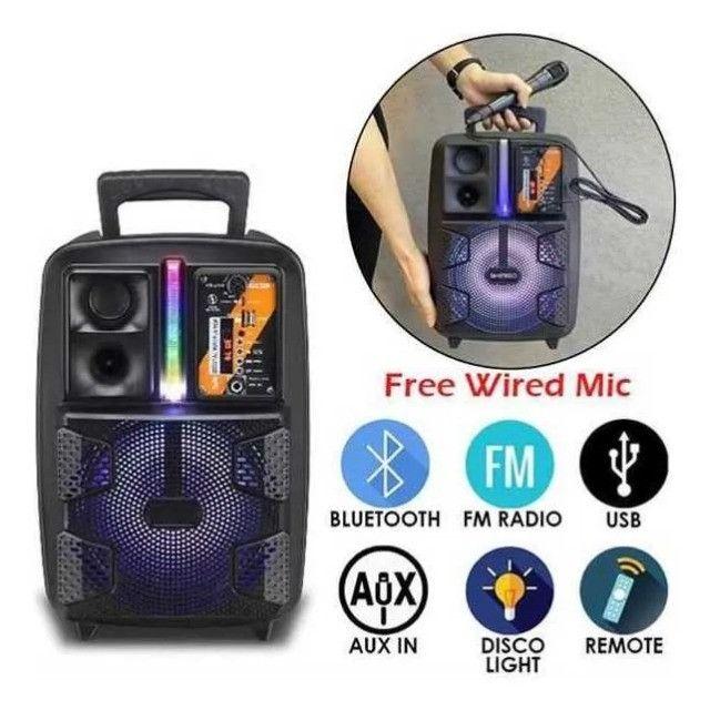 Caixa de som Amplificado (Kimiso Qs-2805) 2000W - A Mais Procurada Na Loja! - Foto 2