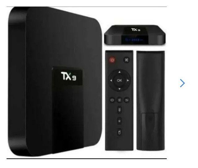 TV Box Tx9 4k com 4GB Ram 32GB armazen.Internet 5G - Foto 2