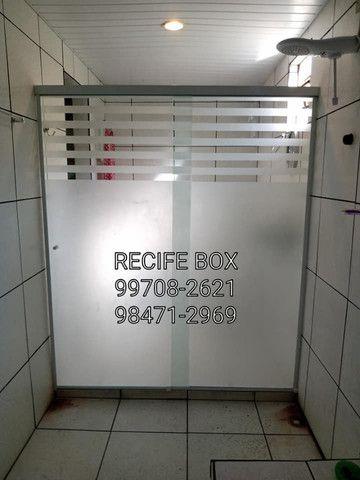 Box para banheiro em vidro temperado - Recife Box - * - Foto 5