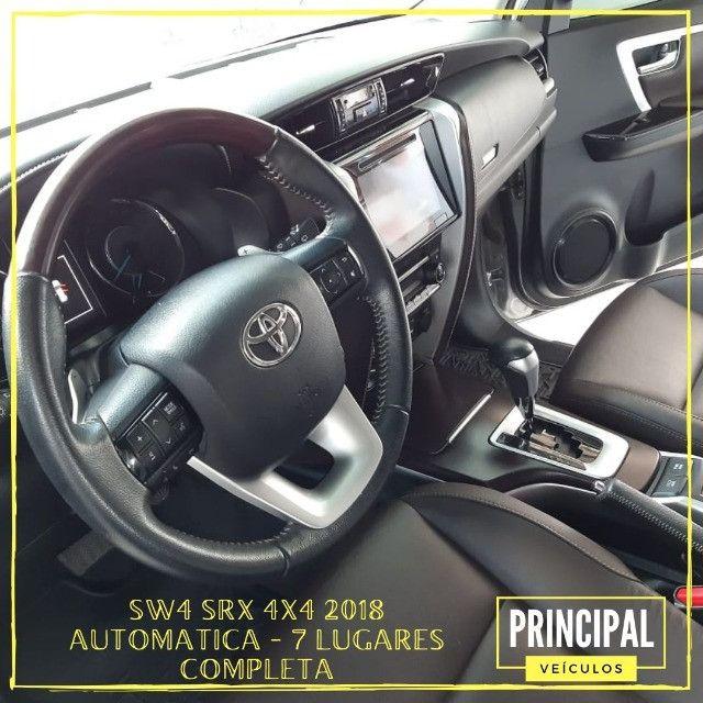 Toyota Hilux SW4 Srx 2018 Completo - Garantia de Fabrica - Foto 8