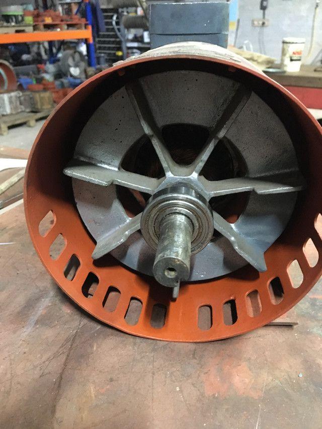 Motor elétrico corrente contínua 1,5 cv - Foto 4
