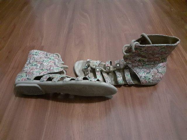 Sandália Gladiadora - entrego - Foto 2