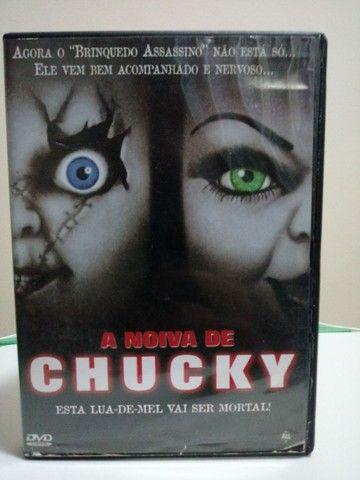 DVD  Noiva do Chucky - Faço Envio.