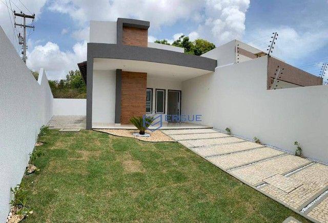 Casa com 3 dormitórios à venda, 99 m² por R$ 200.000,00 - Pedras - Itaitinga/CE - Foto 3