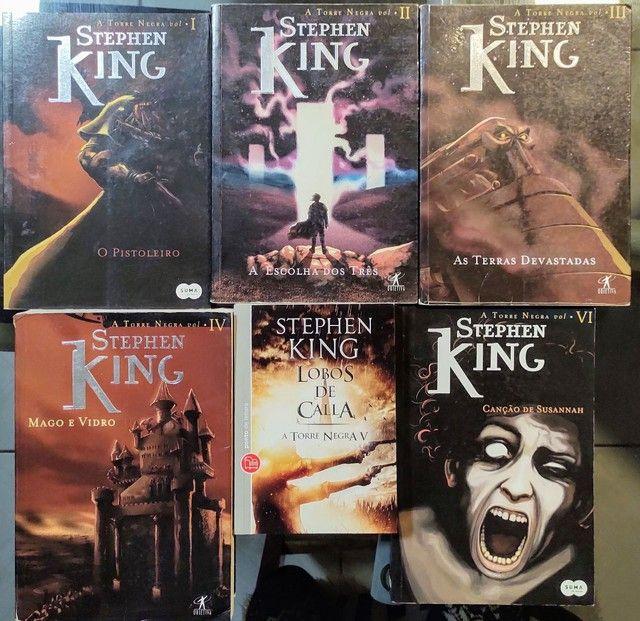 A Torre Negra - Stephen King - 6 volumes