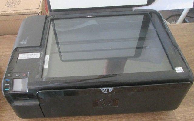 Impressora Hp C4480 Liga e Não Imprime