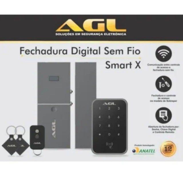 Fechadura Digital Agl N20 Biométrica - Foto 2