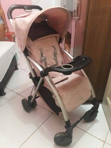 Carrinho de bebê alumínio