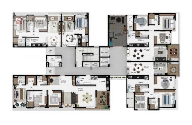 Apartamento à venda com 3 dormitórios em Manaíra, João pessoa cod:37326 - Foto 15