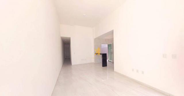 Casa com 3 dormitórios sendo 2 suítes à venda, 89 m² por R$ 265.000 - Urucunema - Eusébio/ - Foto 9